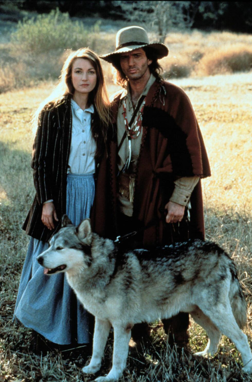 FRA DR. QUINN: Jane Seymour som Michaela Quinn og Joe Lando som Byron Sully i serien, som hadde stor suksess på 90-tallet.  Foto: Heritage