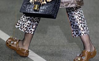 Christopher Kane brukte crocs på catwalken under London Fashion Week