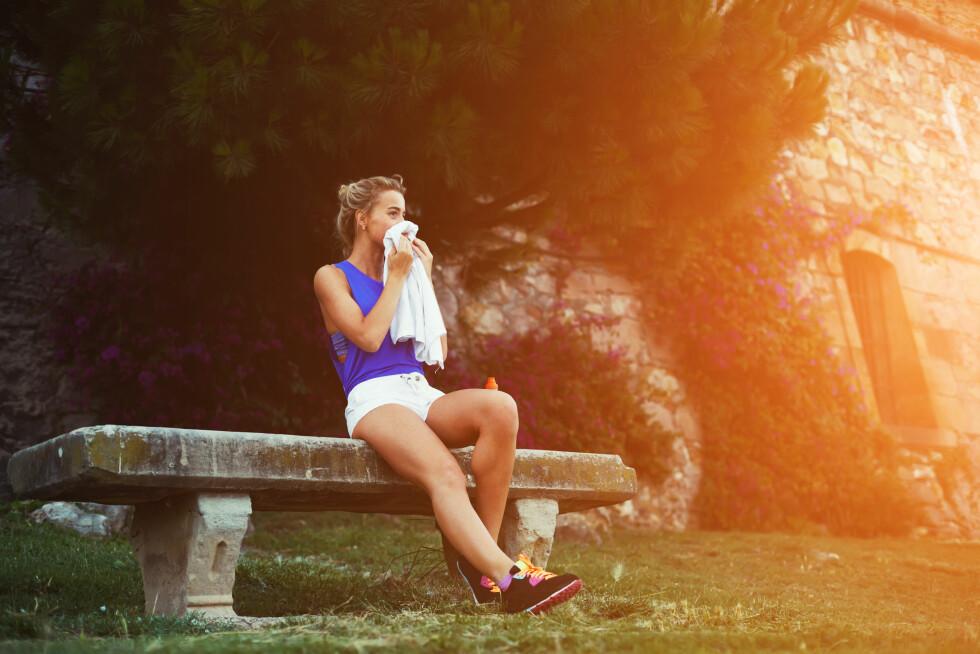 SLAPP OG SVAK: Forskning tyder på at en mangel på vitamin D kan gå ut over muskelstyrken og prestasjonsevnen på trening. Foto: Shutterstock / GaudiLab