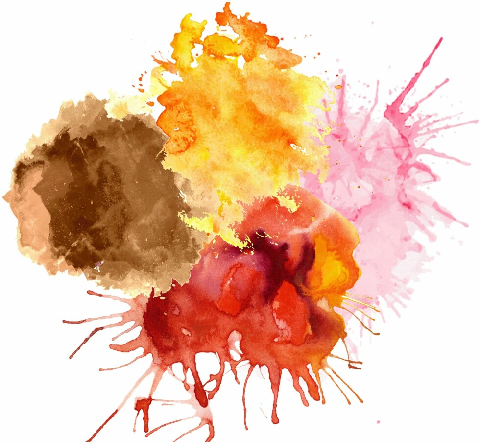 GRØNNE ØYNE: Brunt, rød/rustrød, oransje, rosa og gult er gode farger for deg med grønne øyne. Foto: Scanpix