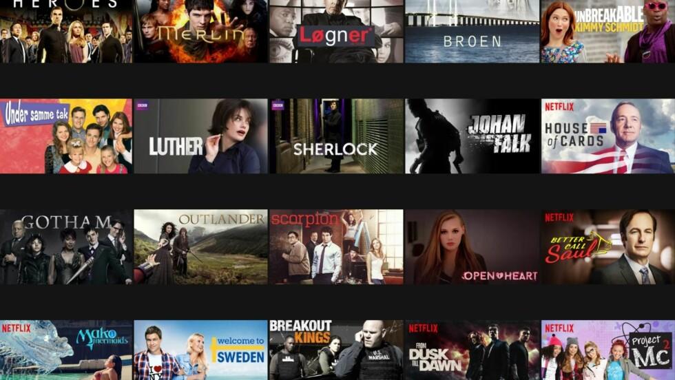 NETFLIX: KK.no-redaksjonen tipser om sine favorittserier på Netflix lengre ned i saken! Foto: Skjermdump / Netflix