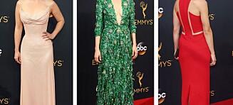 Disse damene var Emmy Awards' best kledde