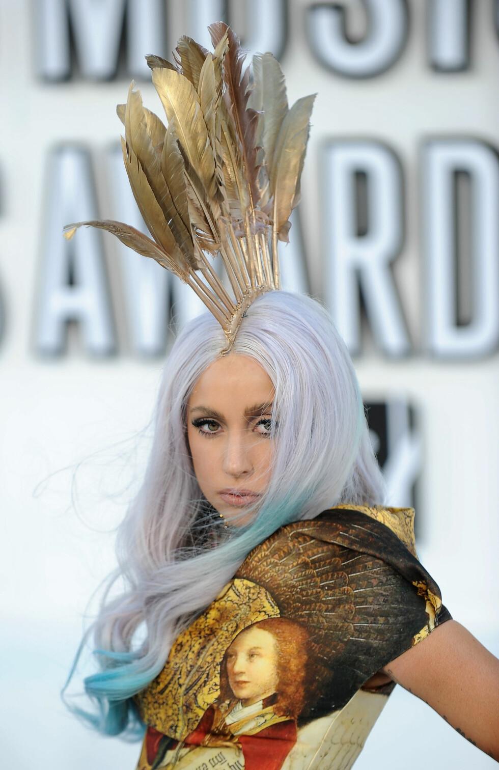 <strong>SIN EGEN STIL:</strong> Lady Gaga (30) er like kjent for sin særegne stil som for sin musikk. Foto: Afp