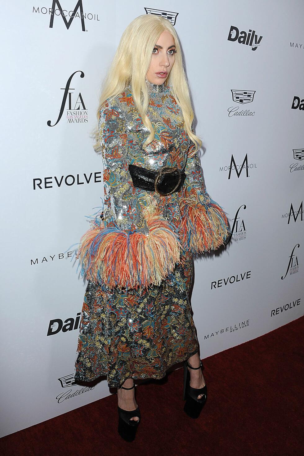 <strong>SIN EGEN STIL:</strong> Lady Gaga (30) er like kjent for sin særegne stil som for sin musikk. Foto: Splash News