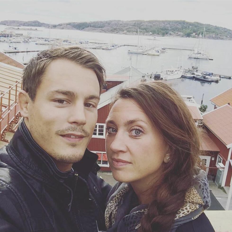 BURSDAGSFEIRING: Feiringen av Camillas 40-årsdag i Fjällbacka for to år siden.   Foto: Privat