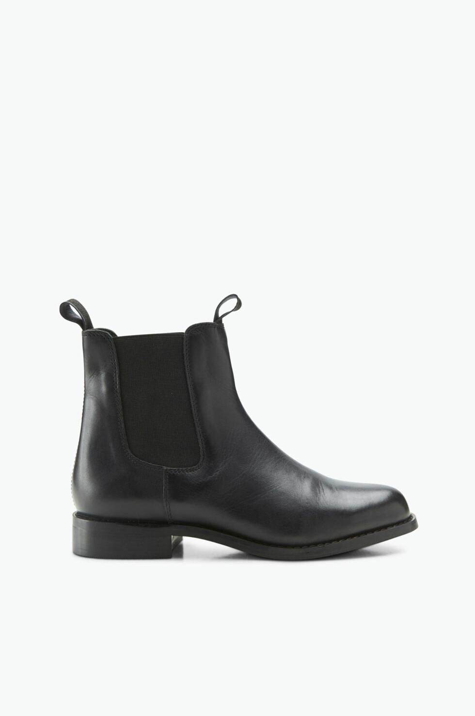 Boots fra Ellos   kr 1049   https://track.adtraction.com/t/t?a=1068408670&as=1115634940&t=2&tk=1&url=http://www.ellos.no/ellos-shoes/chelseaboots-tea-plain-leat/527559?selArt=606217&pr=0C1B2S3T