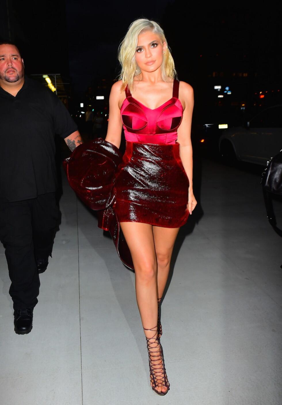 NYFW: Realitystjernen Kylie Jenner.  Foto: Splash News