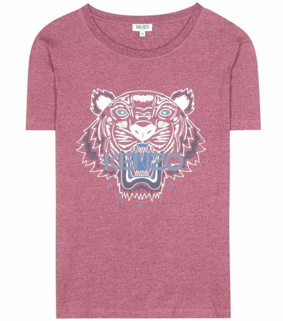 T-skjorte fra Kenzo via Mytheresa.com | kr 969 | http://www.mytheresa.com/eu_en/printed-cotton-t-shirt-622644.html