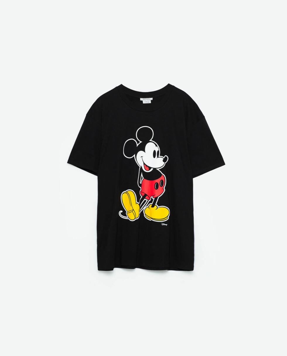 <strong>T-skjorte fra Zara | kr 169 | http:</strong>//www.zara.com/no/no/trf/t-skjorter/t-skjorte-mikke-mus-c269214p3812537.html