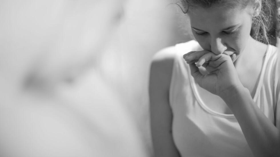 SPISEFORSTYRRELSEN OG SKAMMEN: Skammen kommer alltid. Og da bestemmer jeg meg. Hver gang. At jeg aldri mer skal spise igjen.  Foto: Shutterstock / Photographee.eu