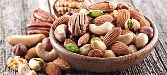 Macadamia, cashew, pistasj og mandler - hvilke nøtter er sunnest?