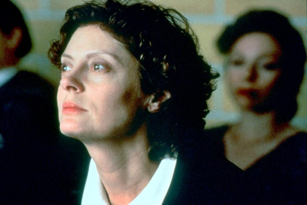 Sarandon vant Oscar for rollen som nonne i den dramatiske death row-filmen Dead Man Walking i 1995.     Foto: Topfoto