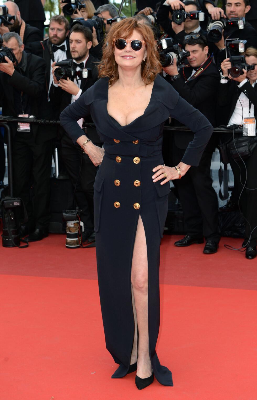 Sexy på Cannes film festival tidligere i år.  Foto: Pa Photos