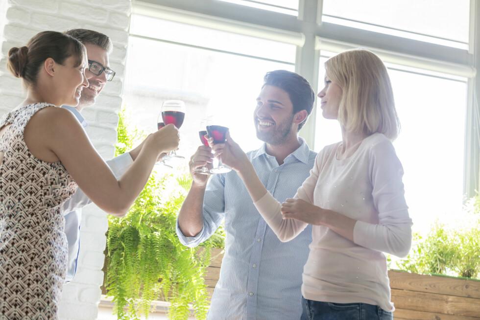 Blir kjæresten din ALLTID fullest på fest? Foto: Science Photo Library