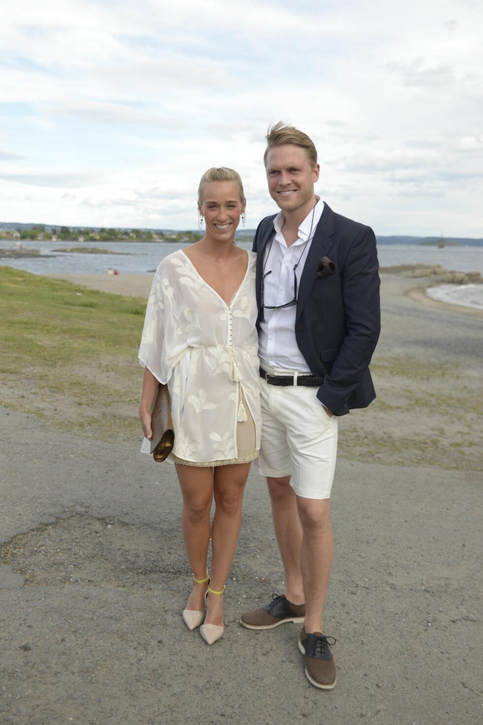FORLOVET: Til høsten skal Katarina Flatland og forloveden Harald Dobloug planlegge bryllup. De forlovet seg i New York denne våren. Foto: Robert S. Eik for VG // NTB Scanpix
