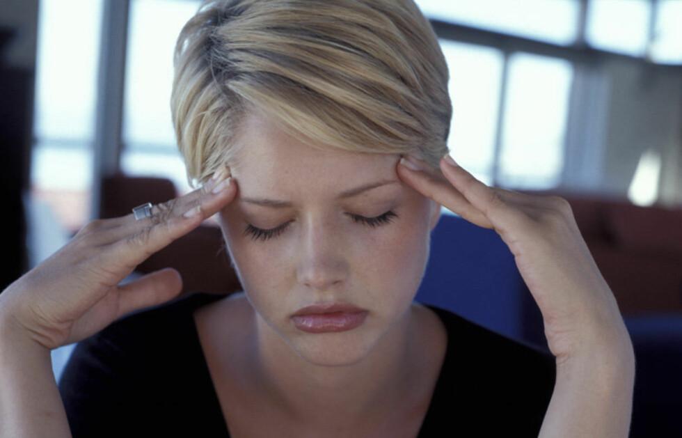FINN TYPEN: Når du finner ut hva slags type hodepine du har, er det lettere å finne riktig behandling for den.  Foto: Colourbox