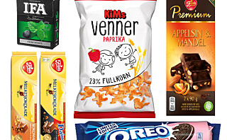 Her får du en smakebit på høstens snacksnyheter!