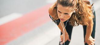 Hoste under og etter trening kan være tegn du bør ta alvorlig
