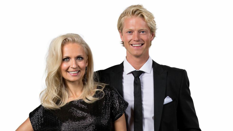SKAL VI DANSE: Eilev Bjerkerud og Nadya Khamitskaya er et av parene som skal vise danseteft på parketten under årets sesong av «Skal vi danse». Foto: Espen Solli for TV 2