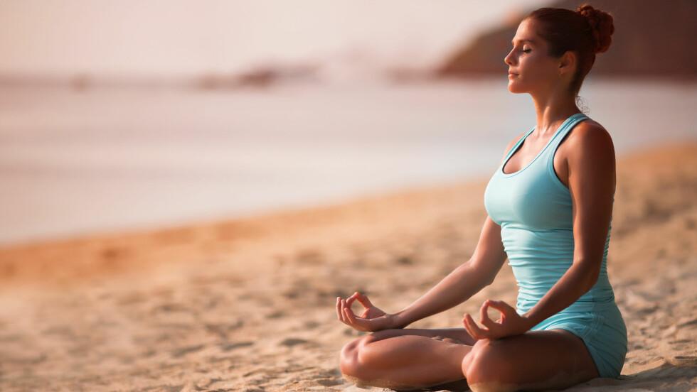MENINGEN MED LIVET: For noen er det yoga, meditasjon og mindfullness, men det er ikke sikkert det er det for deg. Foto: Shutterstock / VetrovaMaria