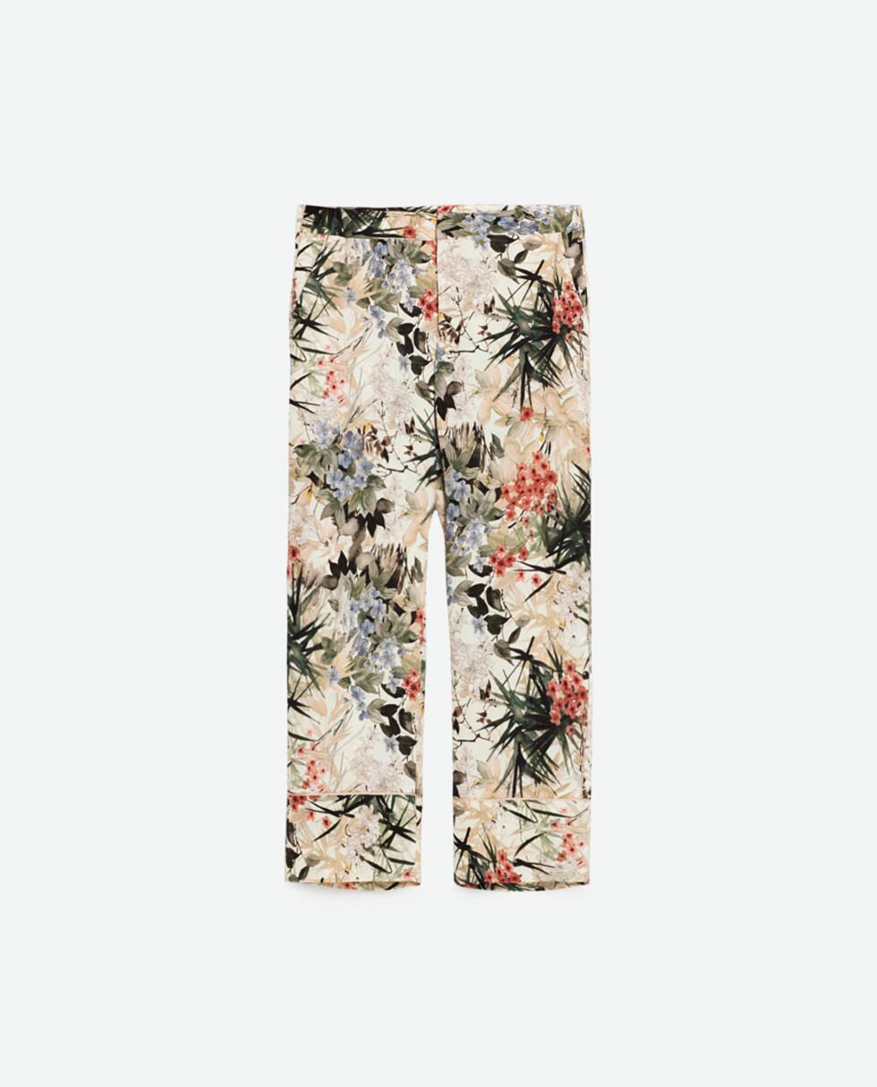 Bukse fra Zara, kr 349. Foto: Produsenten