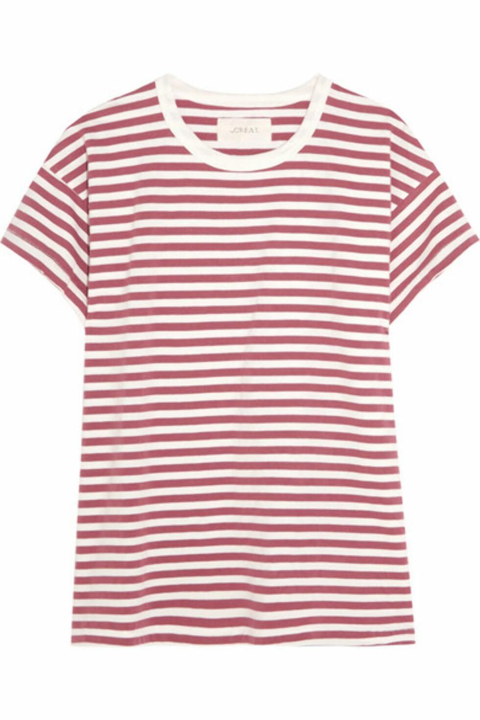 T-skjorte fra The Great via Net-a-porter.com | ca. kr 1000 | Foto: Produsenten