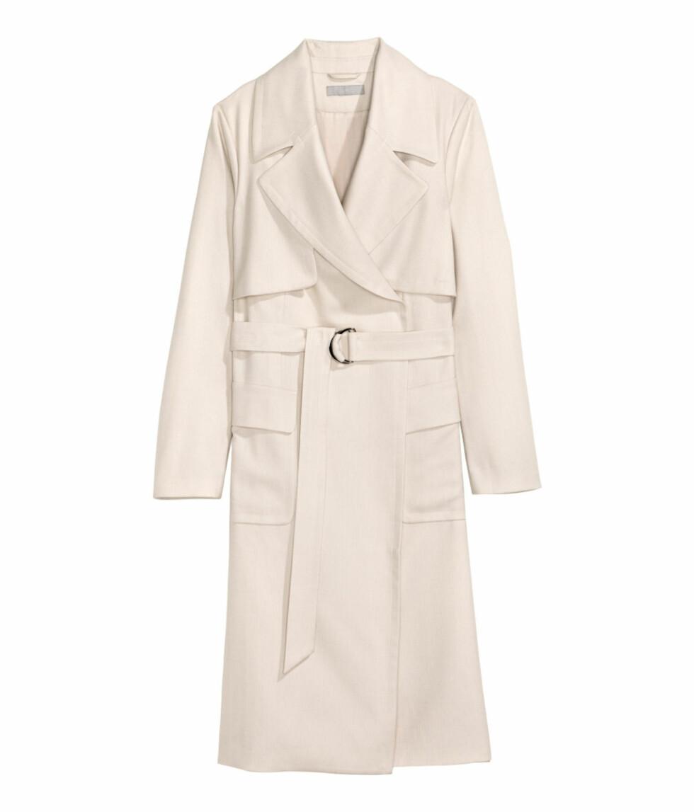 Trench coat fra H&M | kr 799 | Foto: Produsenten