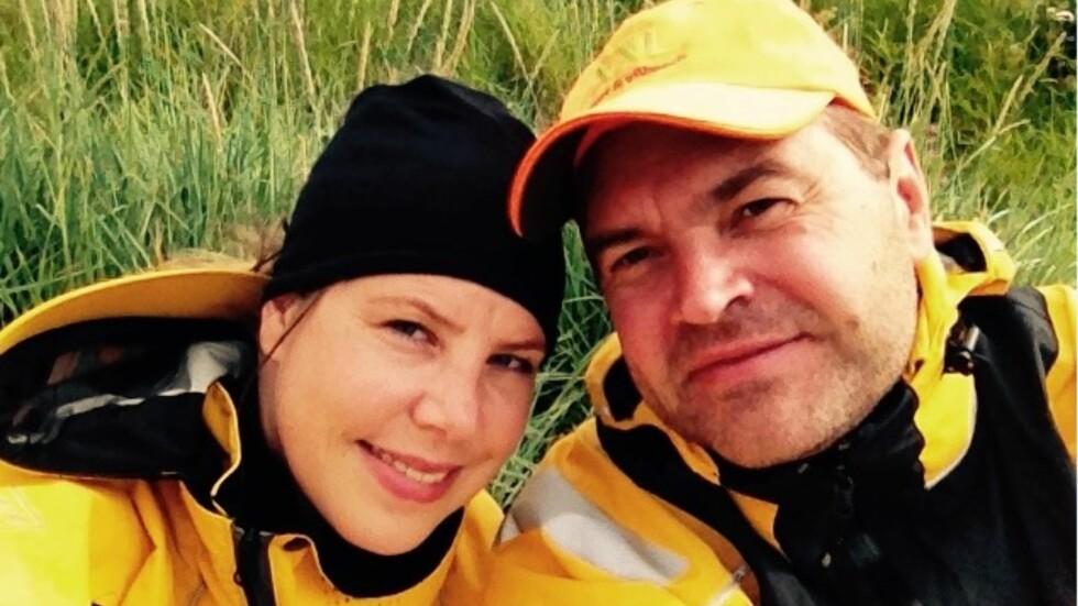 SINGELTUR: Betina Veslehaug fra Geilo og Bjørn Børresen fra Tynset møttes under en arrangert singeltur via Den Norske Turistforening i 2013.  Foto: Privat