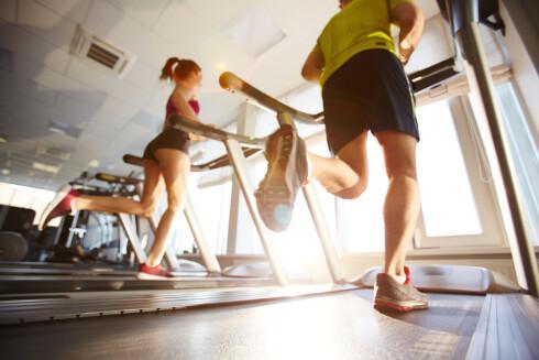 FEM MINUTTER ER NOK: Geriljakardio er ifølge Elander den beste måten å forbrenne fett og øke kondisjonen uten å miste muskelmasse. Fem minutter holder, men dette er hard trening.  Foto: Scanpix