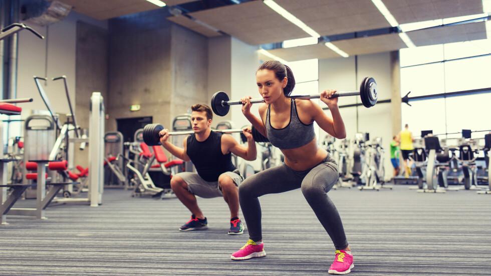 KAN KOMBINERES: Kondisjonstrening og styrketrening kan fint kombineres, ifølge ekspertene. Og best av alt - det har enda bedre effekt! Foto: Shutterstock / Syda Productions