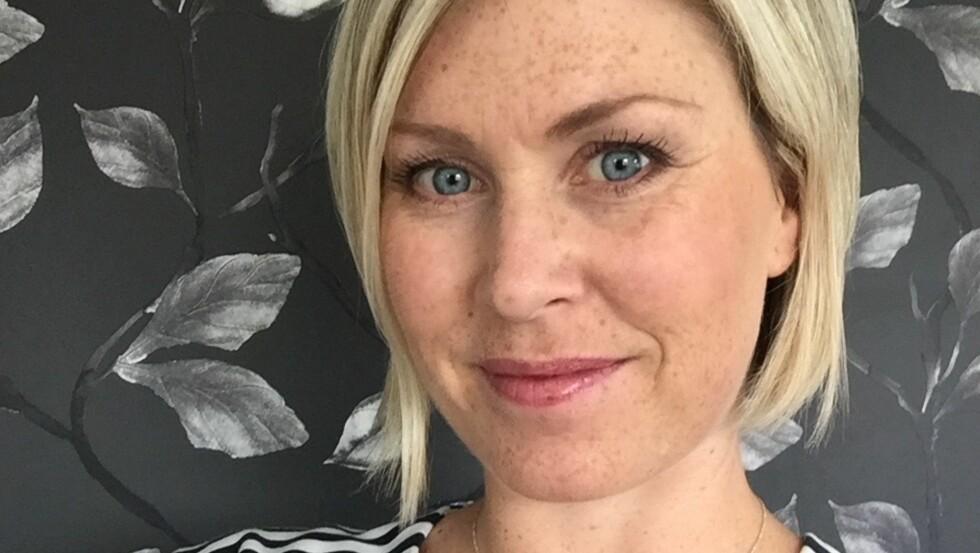 FIKK KREFT: Anette Tveit oppdaget etter mange år med vondt i magen at hun hadde NET-kreft.  Foto: Privat