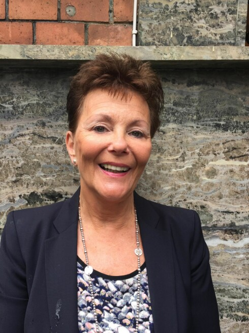 Berit Torkildsen er daglig leder av spesialforretningen Netty Undertøy AS. Foto: Privat