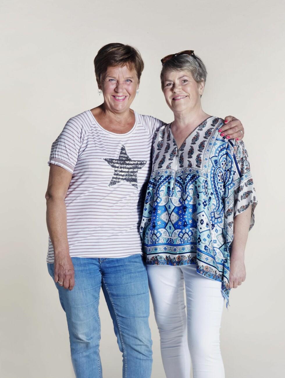 IMPONERT: – Inger har vært kjempeflink, sier navnesøster Inger Kløkstad, damen bak «Ingers rugbrød». Foto: Yvonne Wilhelmsen