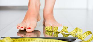 6 enkle tips som sikrer deg en sunn vektnedgang