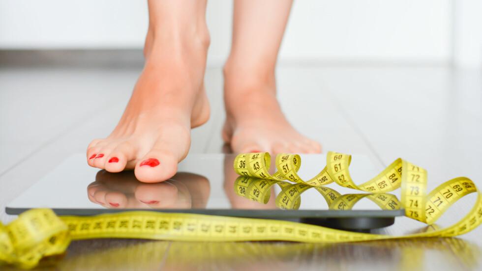 NED I VEKT: Ja, det er fullt mulig å gå ned i vekt relativt raskt og samtidig opprettholde en god helse. Foto: Shutterstock / Ai825