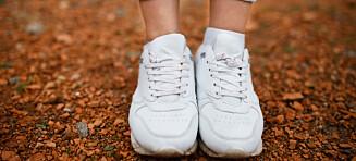 Kan du slenge hvite sko i maskinen?