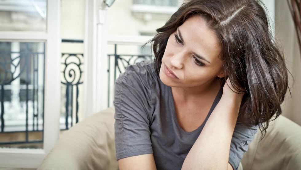 NEGATIVE TANKER: Tenker du deg selv ned, kan du ende med å ødelegge mye for deg selv. Foto: Shutterstock / TristanBM