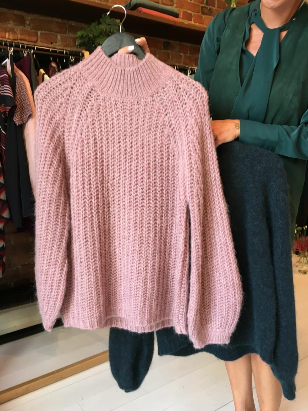 MÅ HA: Vi må ha minst en, to eller tre strikkagensere i klesskapet. Foto: KK.no