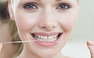 Norsk ekspert:- Anbefaler alle å fortsette å bruke tanntråd