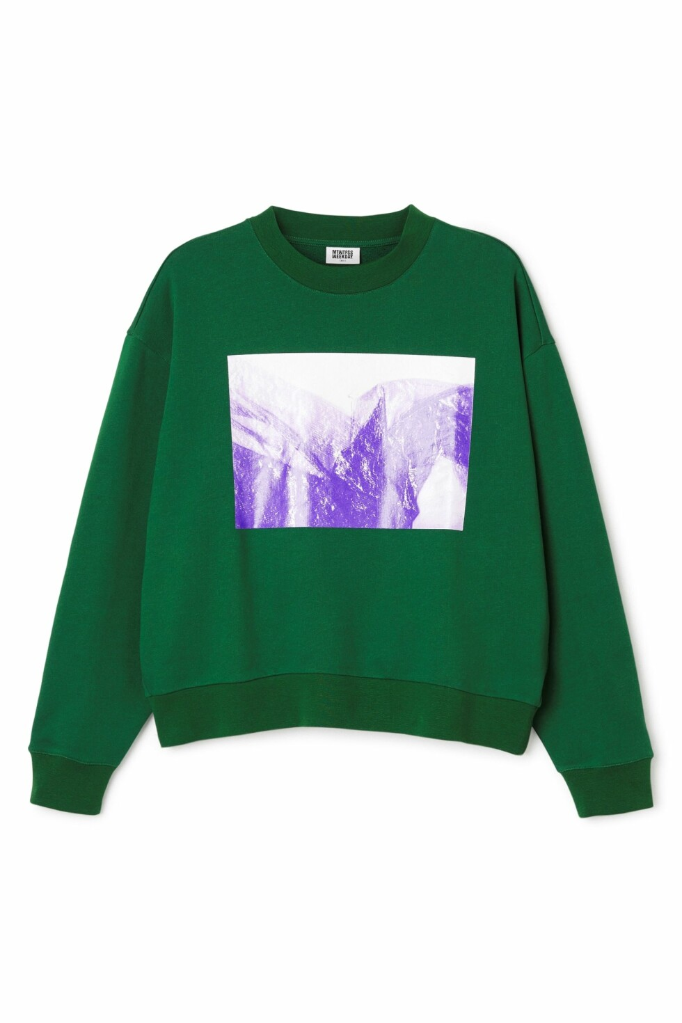 Genser fra Weekday | kr 400 | http://shop.weekday.com/se/Womens_shop/New_arrivals/Huge_Cropped_Printed_Sweater/1342358-9203253.1?image=1328240#c-49929