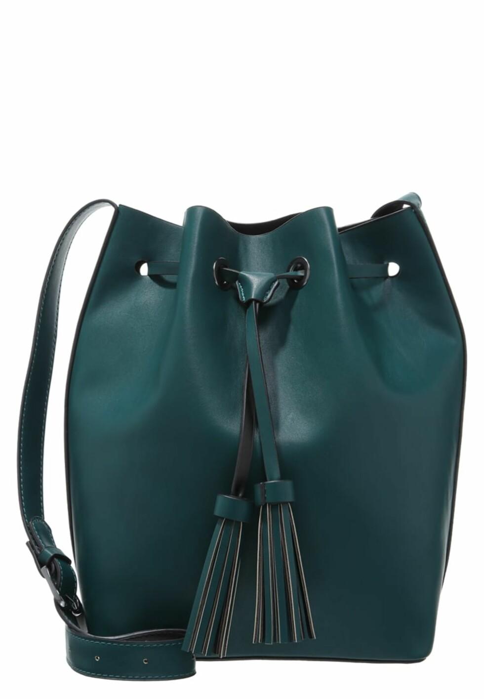 Bucketbag fra Even&Odd via Zalando.no | kr 249 |  pn.zalando.net/go.cgi?pid=1173&wmid=cc&cpid=12&target=http://www.zalando.no/even-odd-handveske-green-black-ev451ha4f-m11.html