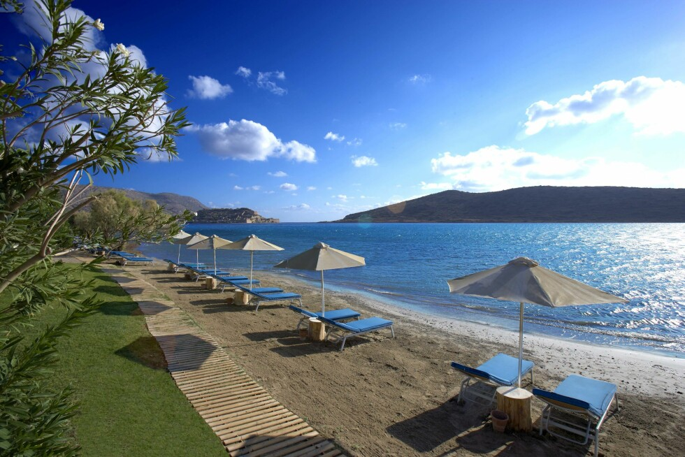 Elounda Beach.