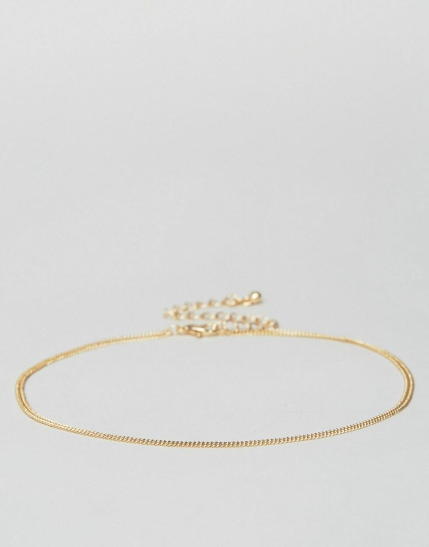 Choker i gull fra Asos | kr 77 | http://ninjalink.com/s/dg6FY4NCai