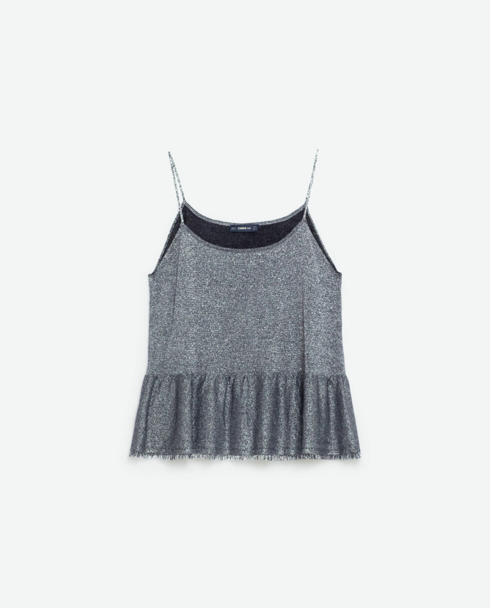 Topp fra Zara, kr 189. Foto: Produsenten