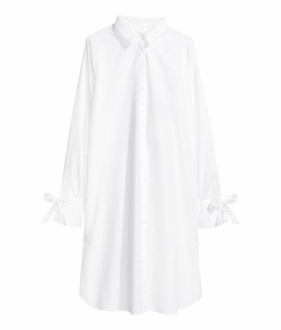 Hvit skjortekjole fra H&M | kr 299 | http://www.hm.com/no/product/50452?article=50452-A