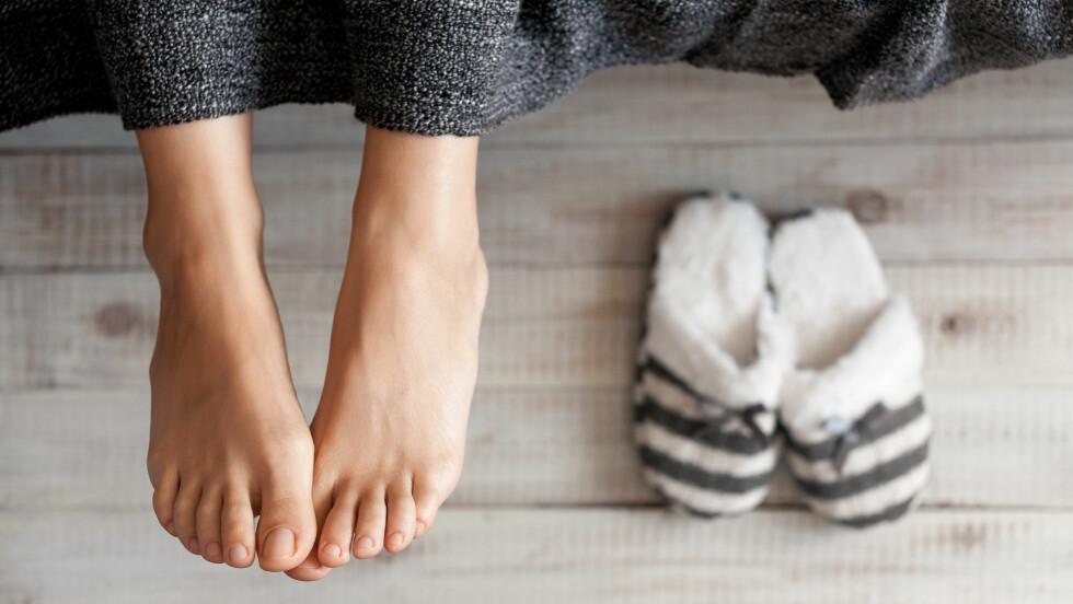 FORSKJELLIGE FØTTER: Har du forskjell på føttene dine? I så fall er du ikke alene. Ifølge ekspertene er det nemlig vanligere enn vi tror.  Foto: Shutterstock / Vadim Georgiev