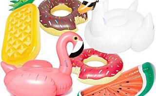 Oppblåsbare badedyr er sommerens hotteste tilbehør