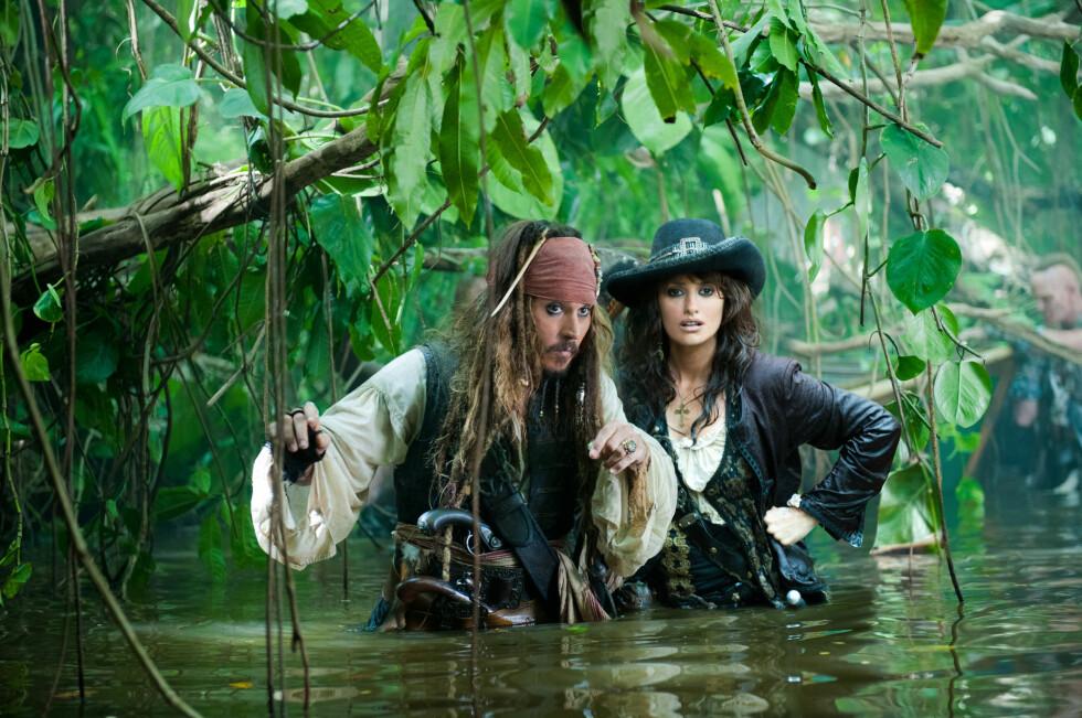 <strong>Pirates of the Caribbean:</strong> On Stranger Tides (2011): tjente 1,04 milliarder dollar.  Foto: WALT DISNEY PICTURES / Album