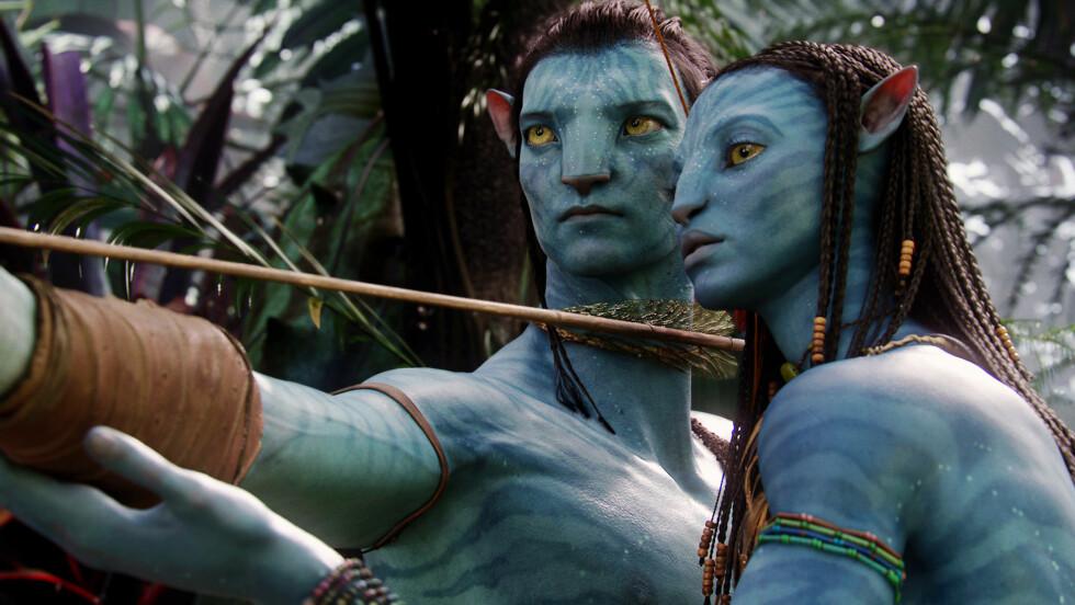<strong>FILMER SOM HAR TJENT OVER EN MILLIARD DOLLAR:</strong> Avatar ligger på første plass med en inntekt på svimende 2,78 milliarder dollar.  Foto: Mary Evans Picture