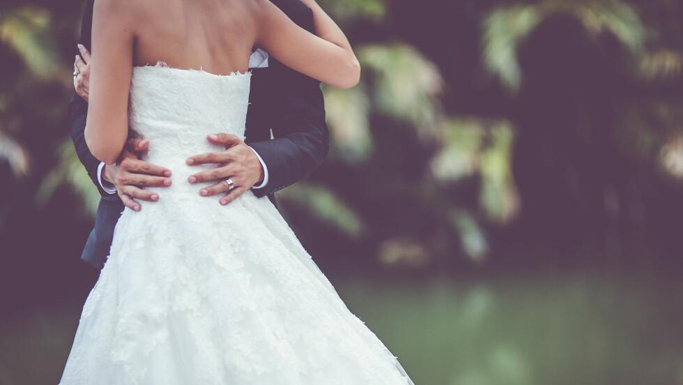 <strong>KJÆRLIGHETSLÅTER:</strong> Nå har Spotify kåret de mest populære bryllupslåtene globalt. Foto: Shutterstock / Filmmanjue